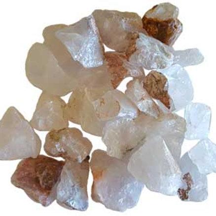 1 lb Quartz Untumbled Stones