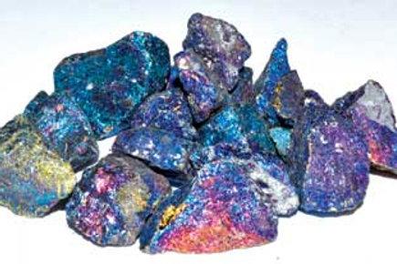 1 lb Chalcopyrite Untumbled Stones