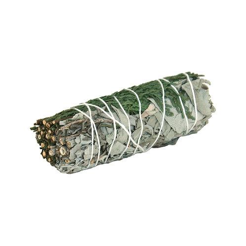 White Sage & Cedar Smudge Stick