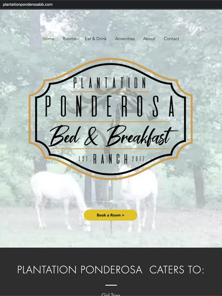 Plantation Ponderosa Bed and Breakfast