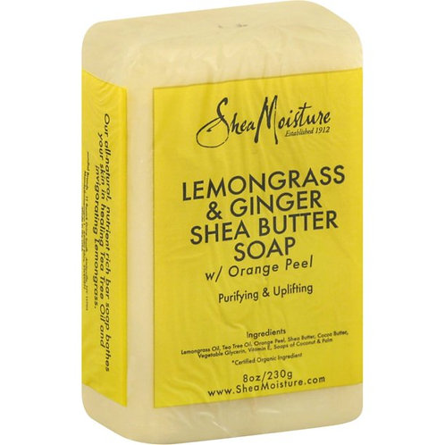 SheaMoisture Lemongrass & Ginger Shea Butter Soap - 8 oz by SheaMoisture