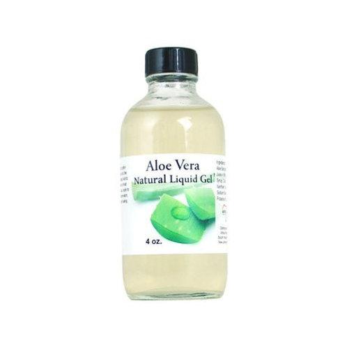 Aloe Vera Natural Liquid Gel - 4 oz.