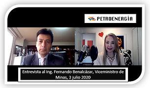 Entrevista Ing Fernando Benalcázar, Petr