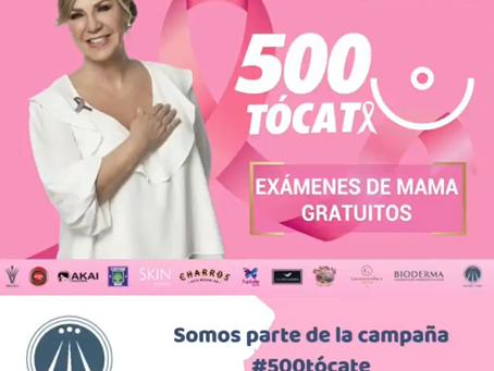 Campaña #500Tócate Fundación Poly Ugarte