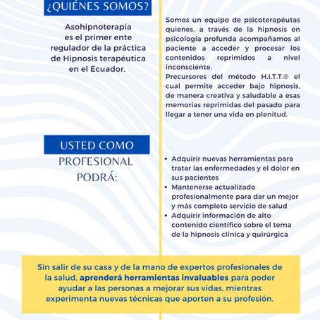 Webinar Hipnosis en la Aplicación de Procedimientos Quirúrgicos, Control del Dolor y Tratamiento