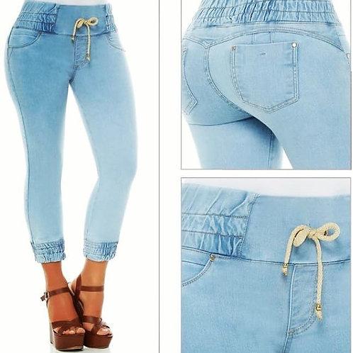 Kiwi capri  push up jeans