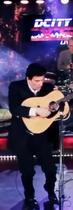 Performing Folsom Prison Blues on Dcity