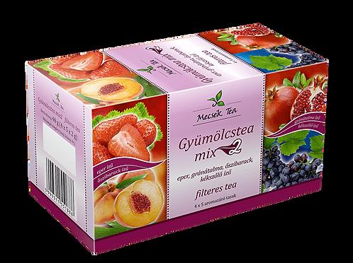 Mecsek Gyümölcstea mix filteres tea