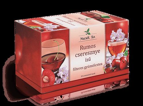 Mecsek Rumos cseresznye filteres tea