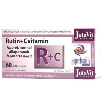 JutaVit Rutin+ C-vitamin filmtabletta 60db