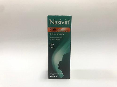 Nasivin Sanft Kids 0,25mg/ml oldatos orrspray
