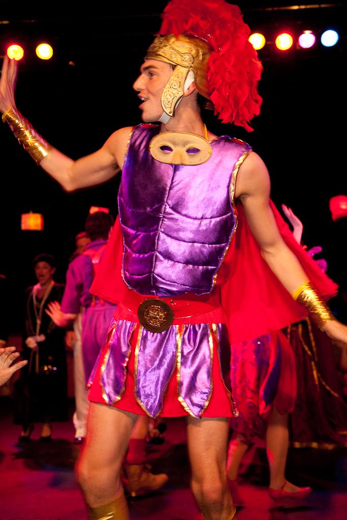 Gladiator theatre costume
