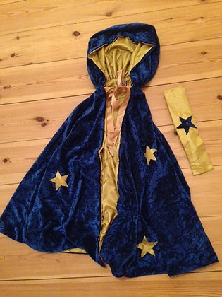 Wizard Cloak age 6 - 8