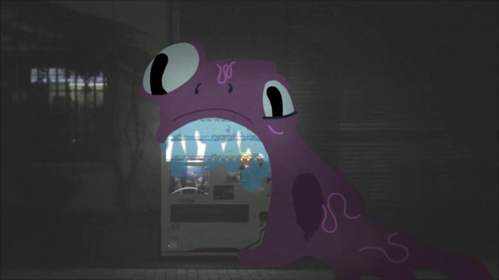 Vending Machine Monster