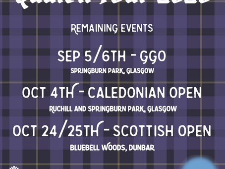 Quaich Tour Update