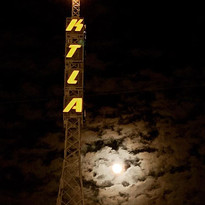 Tower and Moon