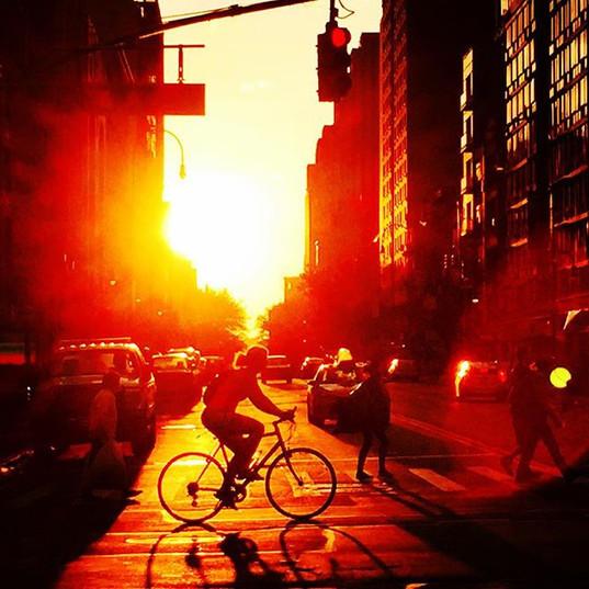 #Manhattansunsets