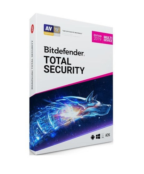 Protection Antivirus Complète Bitdefender Total Security 2020 + VPN