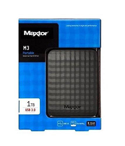 """DISQUE DUR 1 To Externe MAXTOR Haute Qualité (6,4 cm (2,5""""), USB 3.0)"""