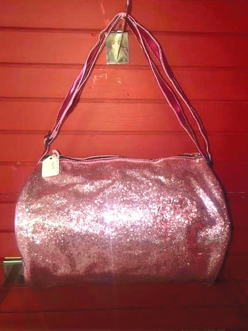 Pink Sequin Dance Duffle