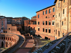 View of the Trajan Market - Rome