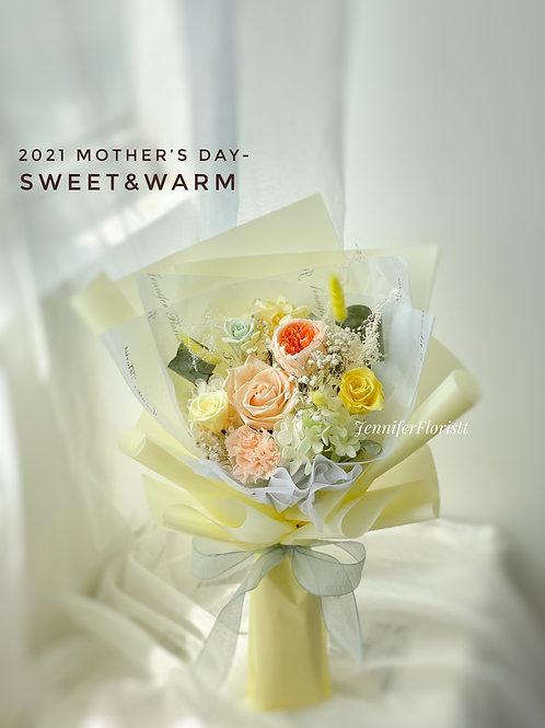 Sweet & Warm(保鮮花)