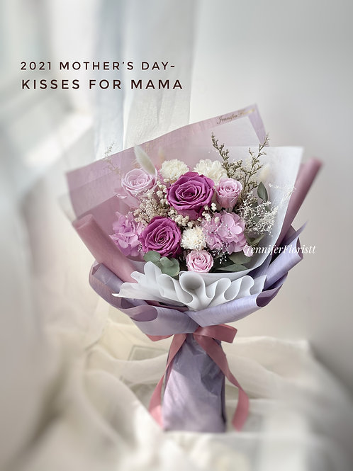 Kisses For Mama(保鮮花)