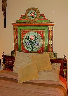 La Fonda Hotel Headboard