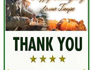 Happy Thanksgiving 2017 Veterans