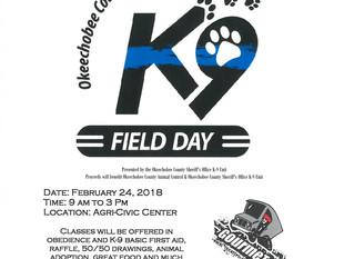 K-9 FIELD DAY