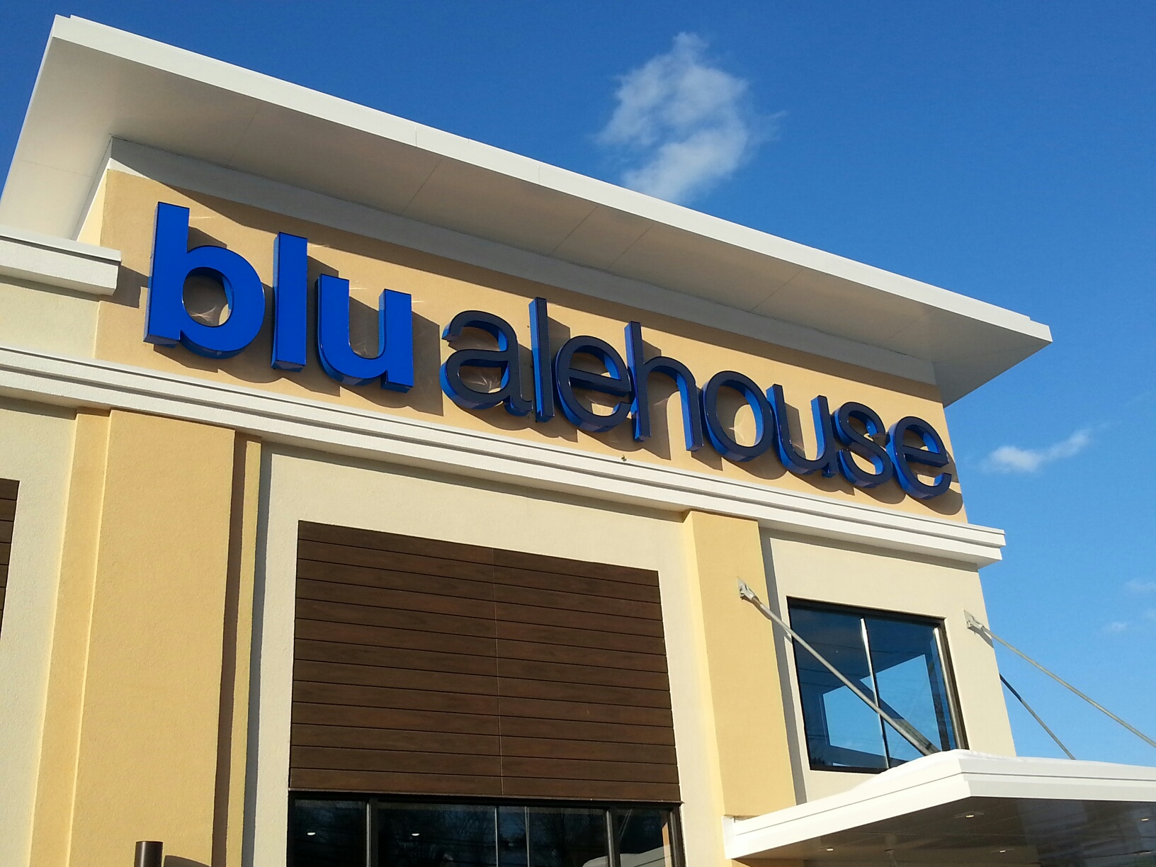 Blu Alehouse Channel letters