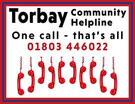 Torbay Community Helpline logo Sept 2020