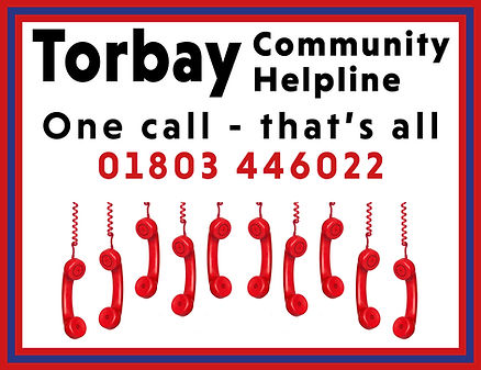 Torbay Community Helpline logo Sept 2020