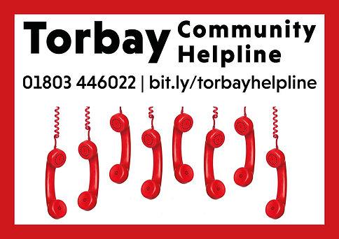 Torbay Community Helpline logo July 2020