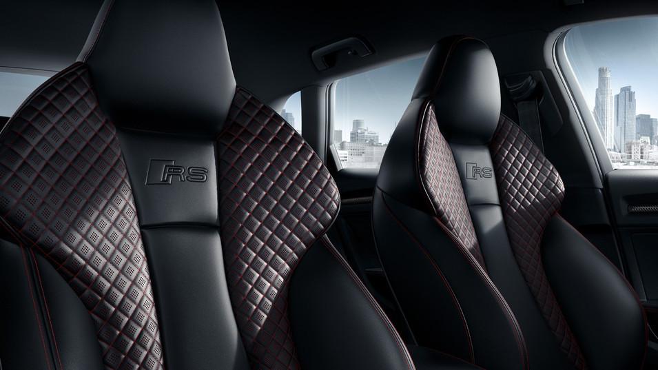 Intérieur Audi RS3 Sportback à louer