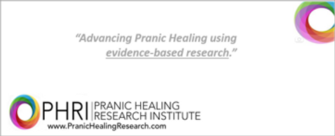 Pranic Healing Research Institute studies results from Pranic Healing