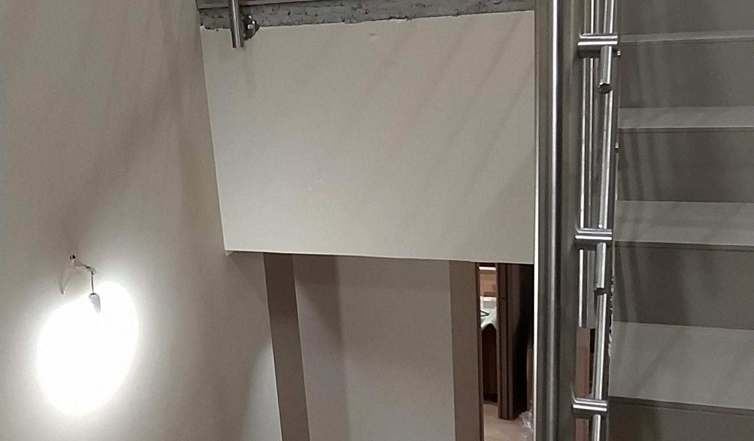 Scala in acciaio inox   per interni