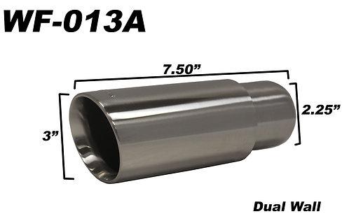 WickedFlow Exhaust Tip: WF-013A (Minimum 10) $15 Each
