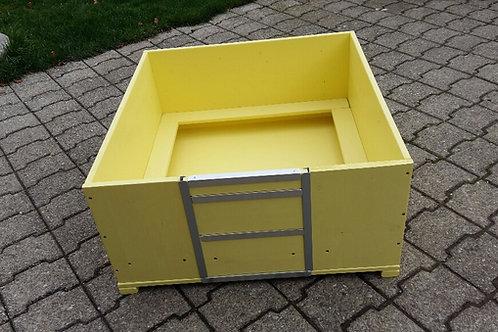 Wurfbox mit Welpenschutz,1-farbig