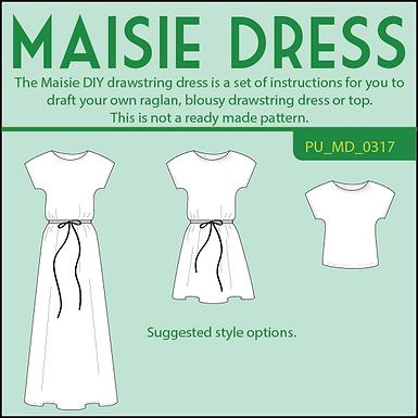 Maisie DIY drawstring dress
