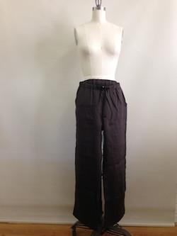 basics pants - linen