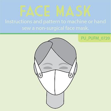 Non-surgical face mask