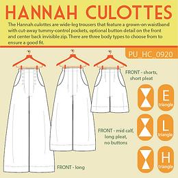 Hannah Culottes