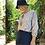 Cora blouse tie front