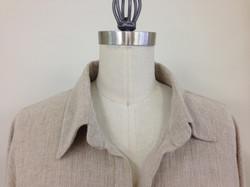 Basics shirt collar detail