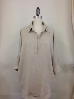 Basics shirt front - cheesecloth