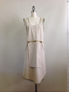 Workspace FADS apron dress plain