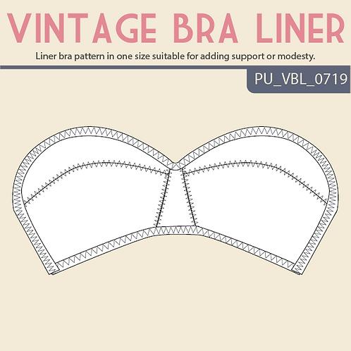 Vintage Liner Bra