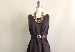 Peony dress - sleeveless