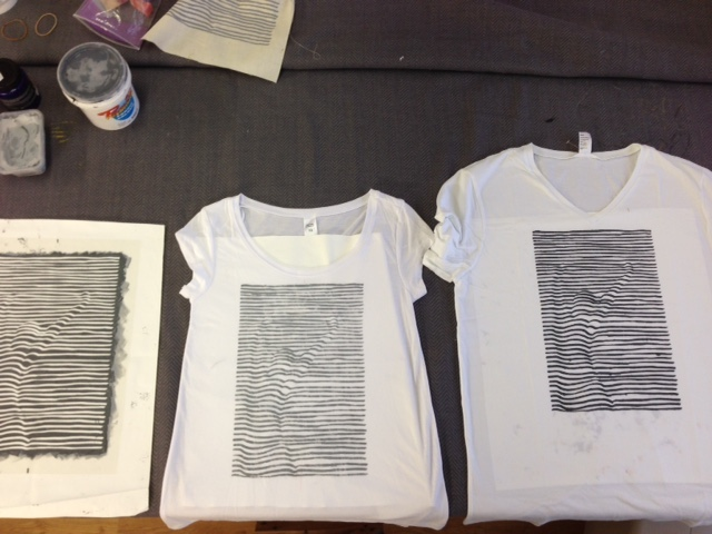 Workspace FADS tee shirt prints